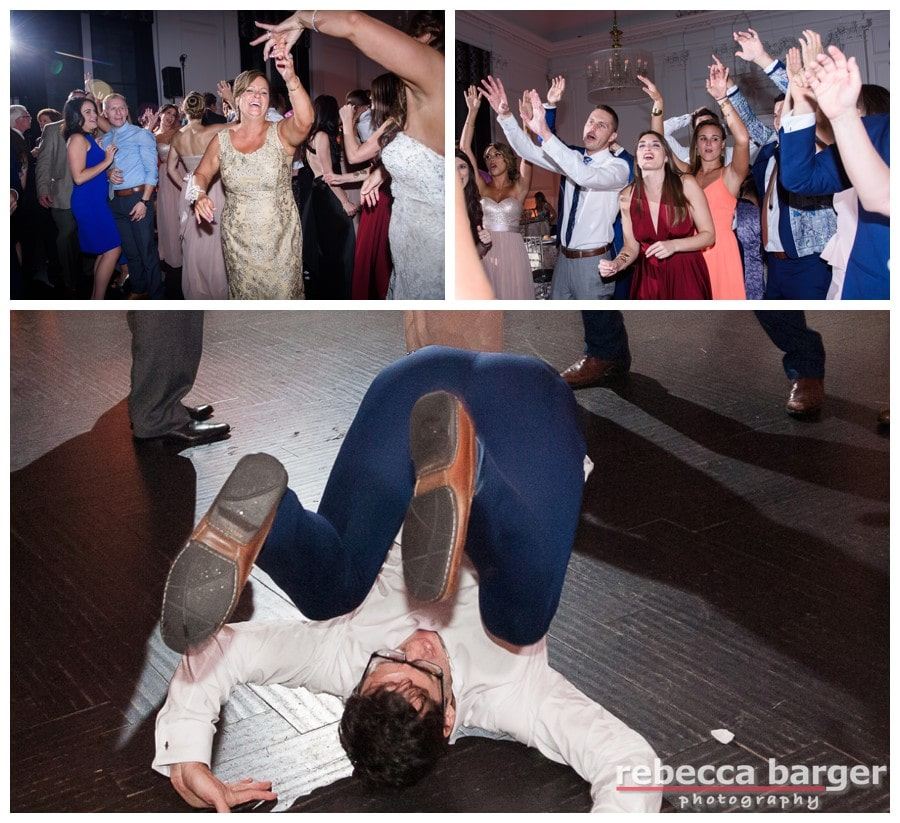 Entertainment by EBE Entertainment and a wild groomsman.