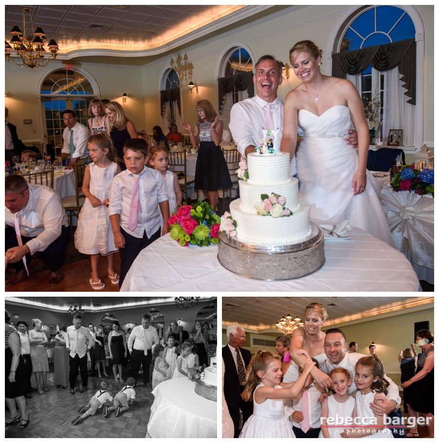 Lindsay + Jason's reception was ruled by the children! Such fun!