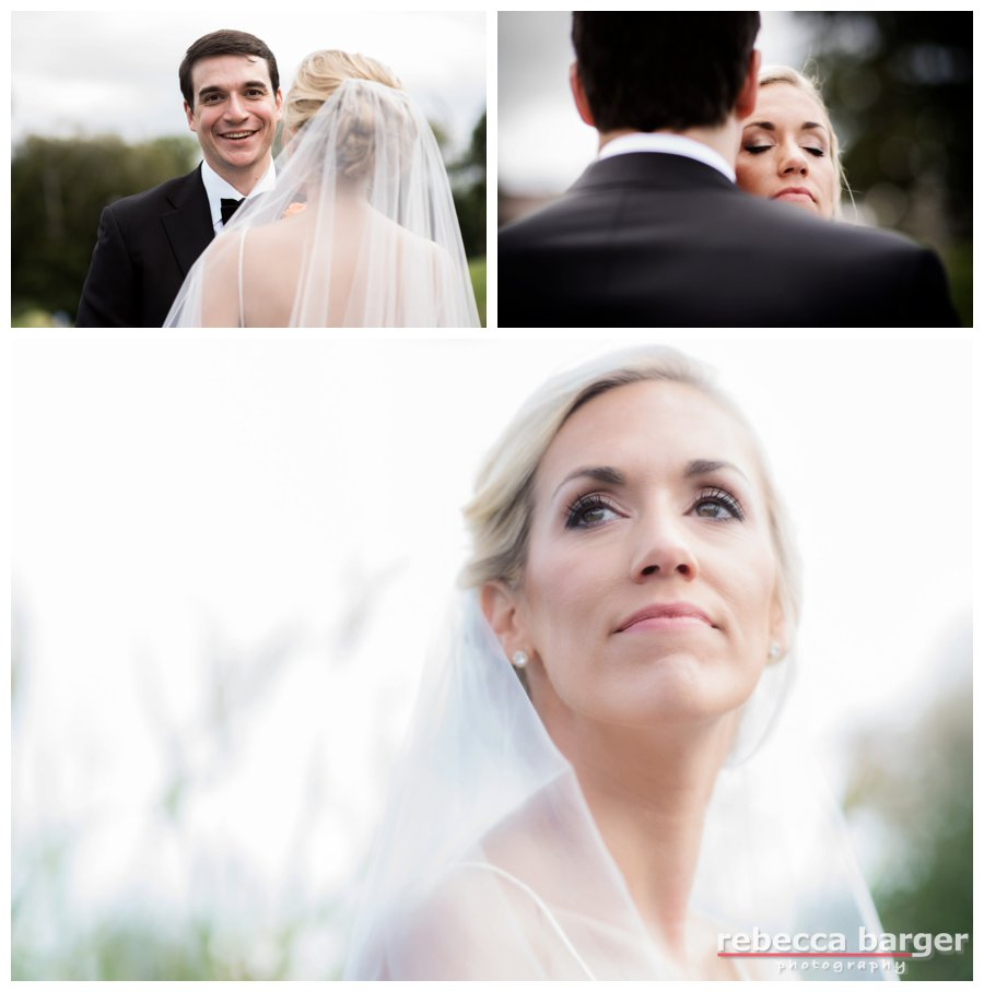 Stephanie, such a beautiful autumn bride, cosmetics by Cheekadee and hair by Up Your Do, Rebecca Barger Photography.