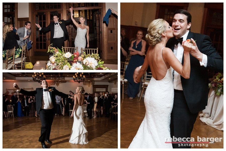 Steph and Zack's first dance, entertainment by Soul Patch Philly.