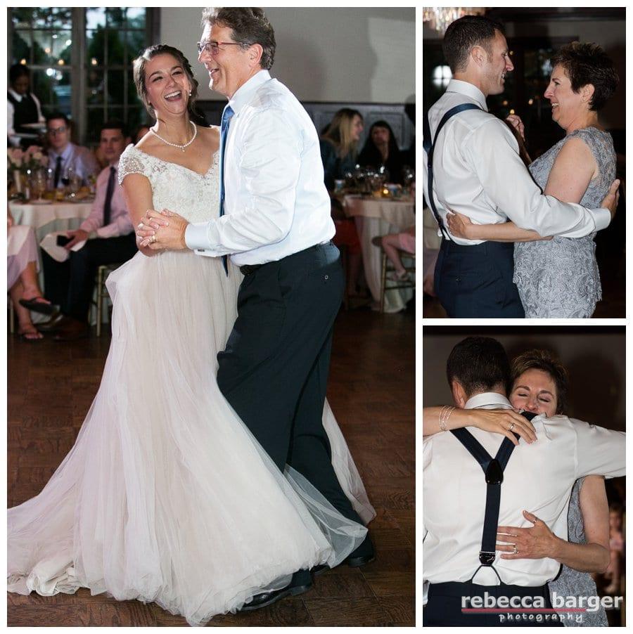 Parent dances.