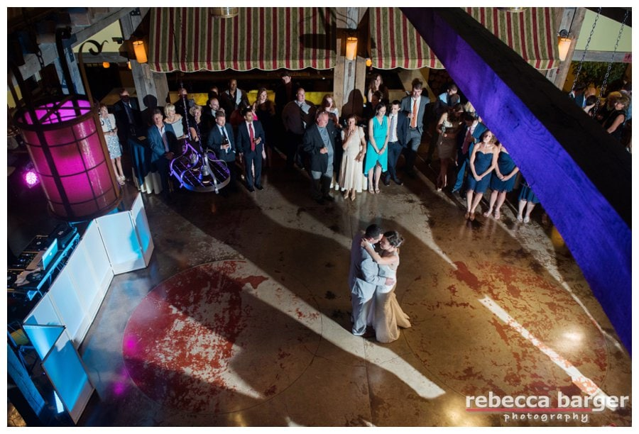First dance as married couple...Laurita Winery.