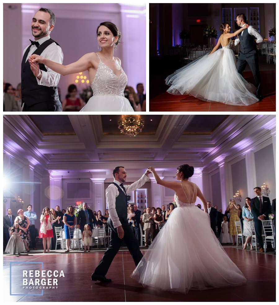 A glorious first dance!